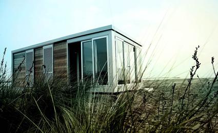 La casa mobile Suite Home, creata da Hangar Design Group nell'ambito dell'iniziativa Italia degli Innovatori